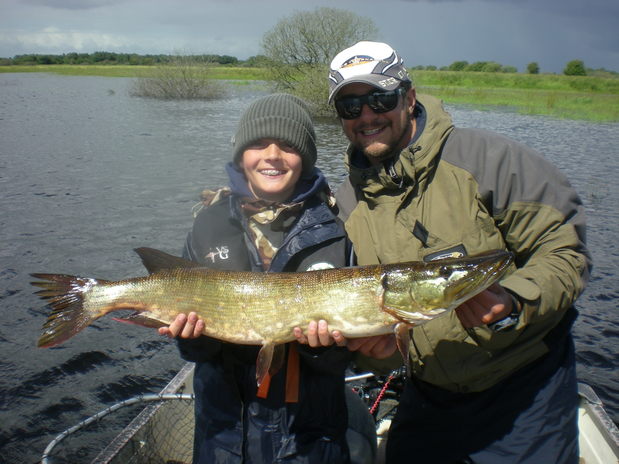 pike fishing ireland Pesca a spinning per ragazzi